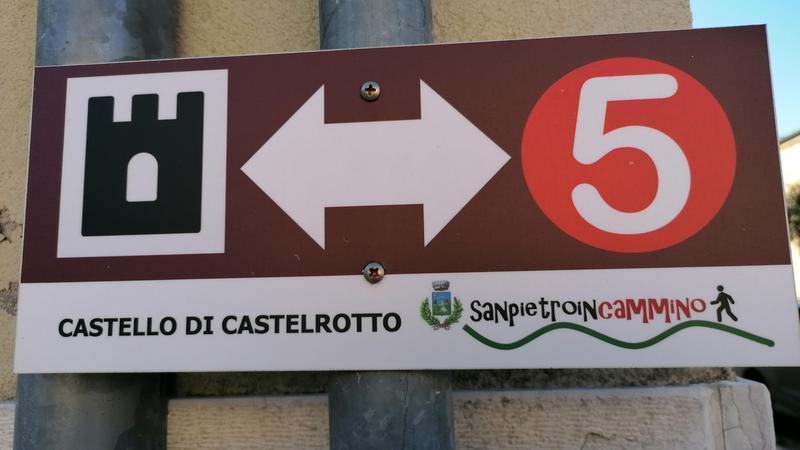 Percorso a piedi Cengia Castelrotto Negrarine
