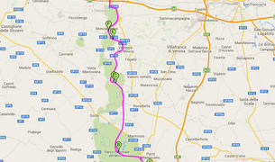 Pista ciclabile Peschiera del Garda, Borghetto di Valeggio sul Mincio, Mantova