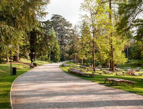 Villa dei cedri for Cabine del parco del windrock